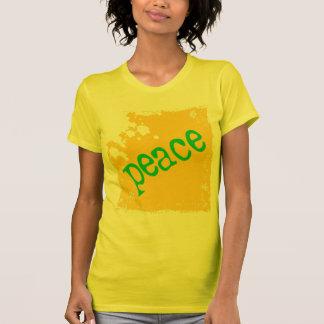 SHIRT_peace_yellow2 Poleras