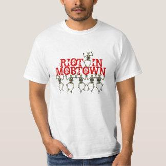Shirt Rioting Skeletons Riot in Mobtown Baltimore