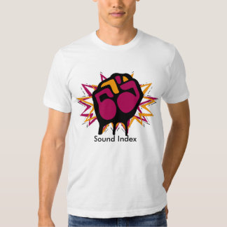 Shirt, Sound Index - Customized T-Shirt