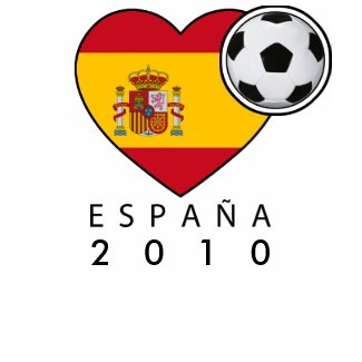Shirt - Spain Heart with black
