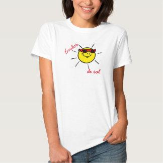 shirt sun glasses fem