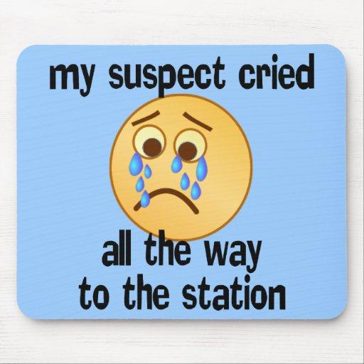 SHIRT_suspect_cried Tapete De Raton
