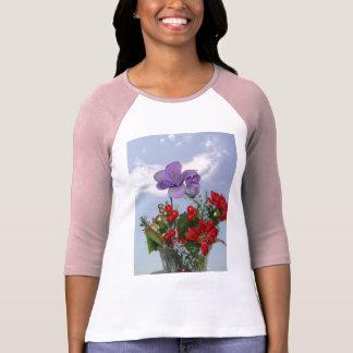 shirt tee flowers floeur flor amore love