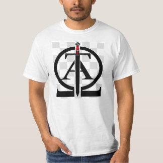 Shirt Templarii Alfa Omega & con fondo Playera