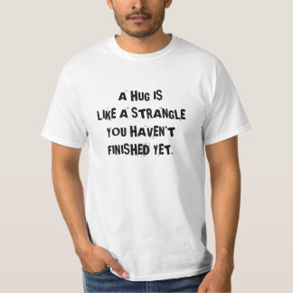 Shirt to make people keep their distance