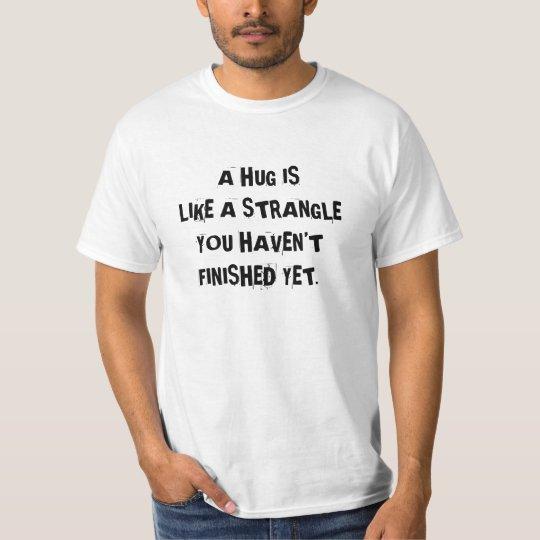 Shirt to make people keep their distance