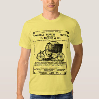 Shirt:  Vintage Cycle:   Coventry Rotary Tricycle Dresses