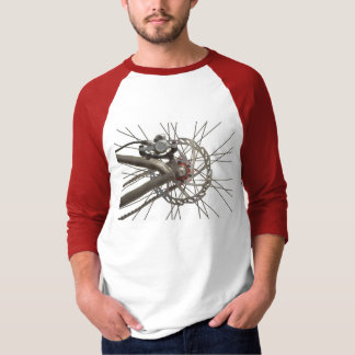 Shirt with Bicycle Back Wheel