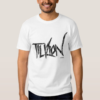 Shirt with Distressed Tilrion Logo