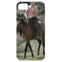 Shirtless Putin Rides a Horse iPhone SE/5/5s Case