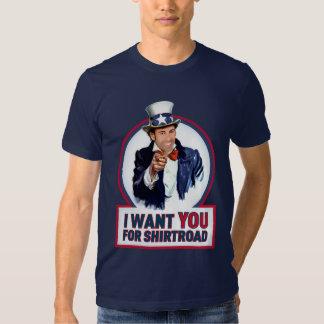 ShirtRoad Wants You! T-shirt