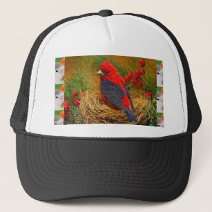 2d263224 shirts Chicks Birds Wild Tiny Singing Pets 99 Trucker Hat