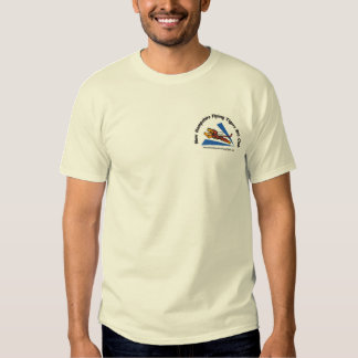 Shirts, light-color, with NH Flying Tigers logo Tee Shirt