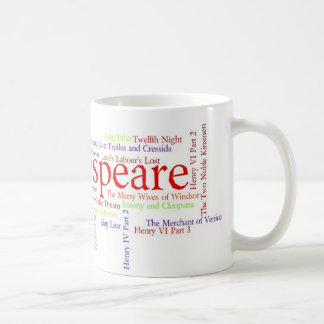 Shirts, Mugs, etc. Inspired by Shakespeare's Plays