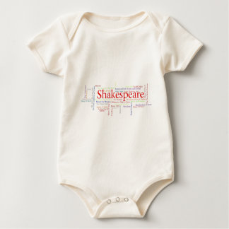 Shirts, Mugs, etc. Inspired by Shakespeare's Plays Baby Bodysuit