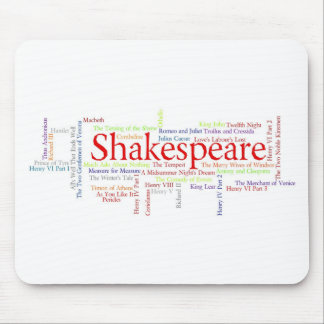 Shirts, Mugs, etc. Inspired by Shakespeare's Plays Mouse Pad