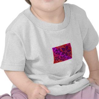 Shirts Tees Magenta Lilac Reds Floral ✿ template Tshirts