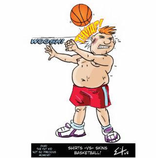 Shirts vs Skins Basketball Acrylic Cut Outs