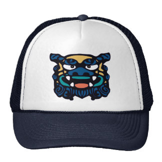Shisa azul gorras