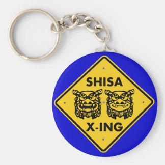 Shisa X-ing Key Chain