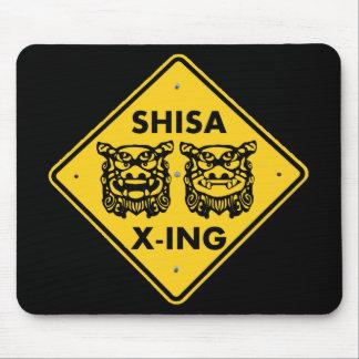 Shisa X-ing Mouse Pad