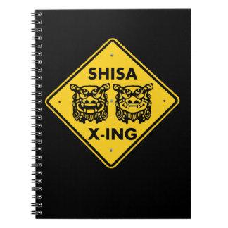 Shisa X-ing Notebook