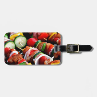 Shish Kebab Bag Tag