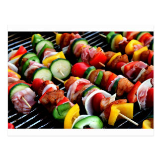 Shish Kebab Postcard