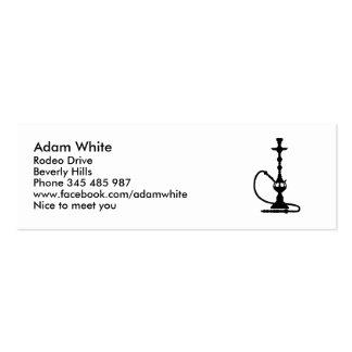 Shisha Business Card Template