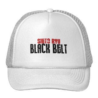 Shito Ryu Black Belt Karate Mesh Hats