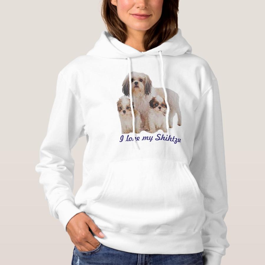 Shitzu Doggy t-shirts - Best Selling Long-Sleeve Street Fashion Shirt Designs