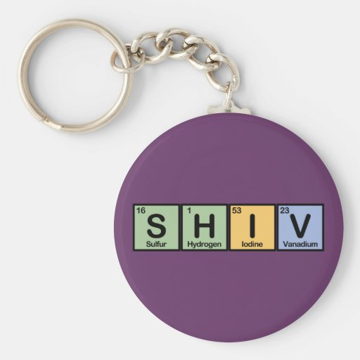 Shiv made of Elements Key Chain