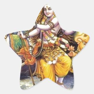 Shiv-Shankar Colcomanias Forma De Estrellas