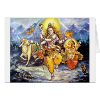 Shiv-Shankar Tarjeta De Felicitación