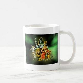 SHIVA AND PARVATHI CLASSIC WHITE COFFEE MUG
