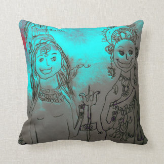Shiva and Parvati Pillow