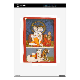 """Shiva and the """"Holy Family"""" Skins For iPad 2"""
