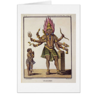 Shiva as Virapatren, Lord with the ill-formed Evil Card