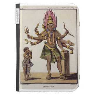 Shiva as Virapatren, Lord with the ill-formed Evil Kindle Case