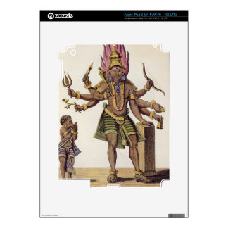 Shiva as Virapatren, Lord with the ill-formed Evil Decals For iPad 3