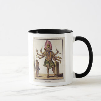 Shiva as Virapatren, Lord with the ill-formed Evil Mug