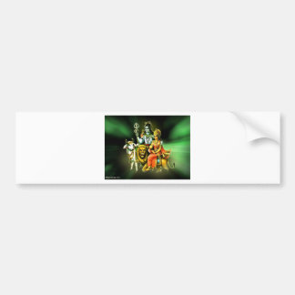 Shiva Bumper Sticker