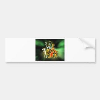 Shiva Bumper Sticker
