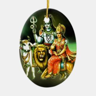 Shiva Ceramic Ornament