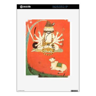 Shiva con su toro sagrado Nandi Calcomanía Para iPad 2