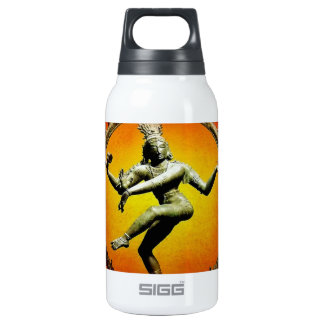 Shiva Dancing in Fire by Sharles Insulated Water Bottle