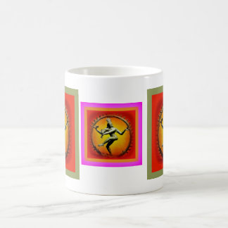 Shiva Dancing in Fire by Sharles Classic White Coffee Mug