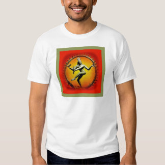 Shiva Dancing in Fire by Sharles T-shirt