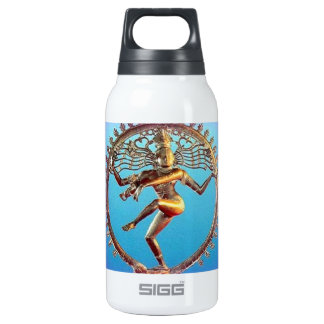 Shiva Dancing in Violet Mysticism by Sharles 10 Oz Insulated SIGG Thermos Water Bottle