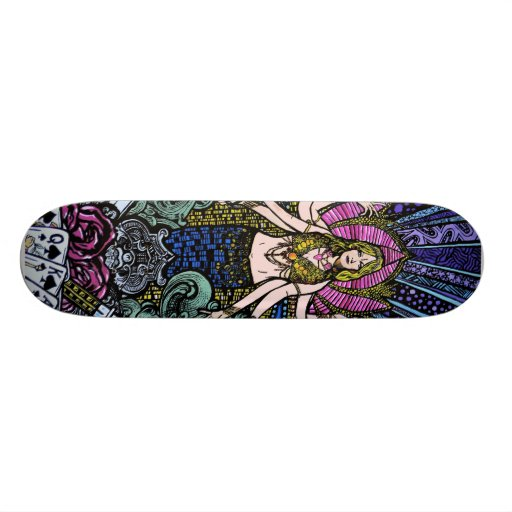 Shiva de Las Vegas Skate Board